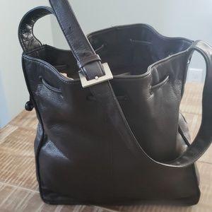 Valerie Stevens Brown Leather Purse